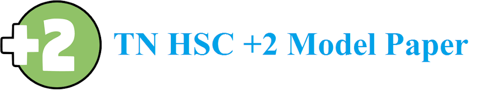 TN HSC +2 Model Paper 2021 TN 12th Blueprint 2021